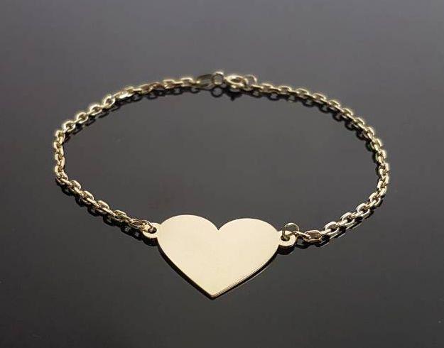 2be81d497 Zlaté náramky   Zlaté šperky   Diamond Link   Gravírovanie