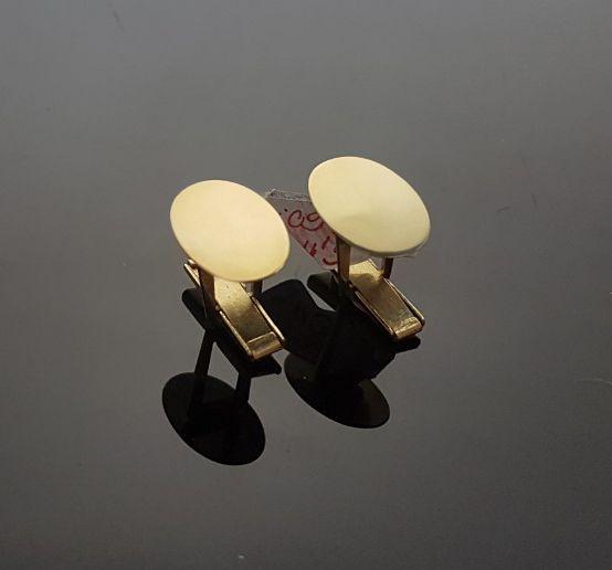6ca59764022d zlaté manžetové gombíky